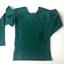 Gugguu Moss Green Frilla Top
