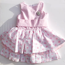 CHUA Girls Pink Cotton Dress
