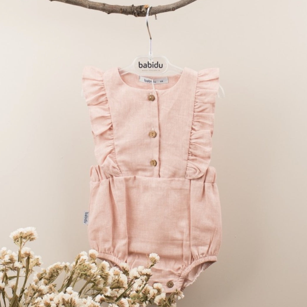 Babidu Girls Dusky Pink Shortie