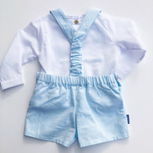 Babidu Mint Shorts and Shirt Set