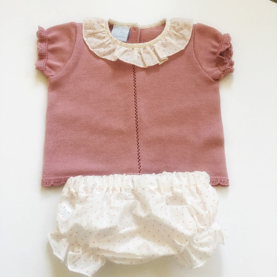 Granlei baby girl pink outfit