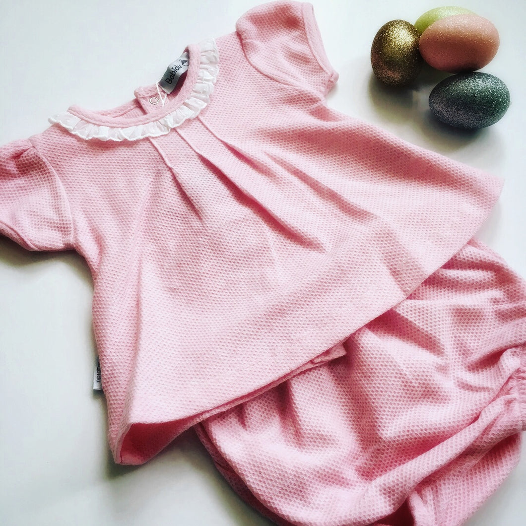 Babidu Pink Shorts Set