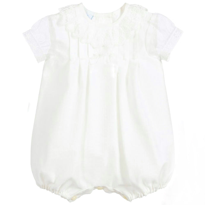 Granlei Unisex Ivory and Lace Shortie
