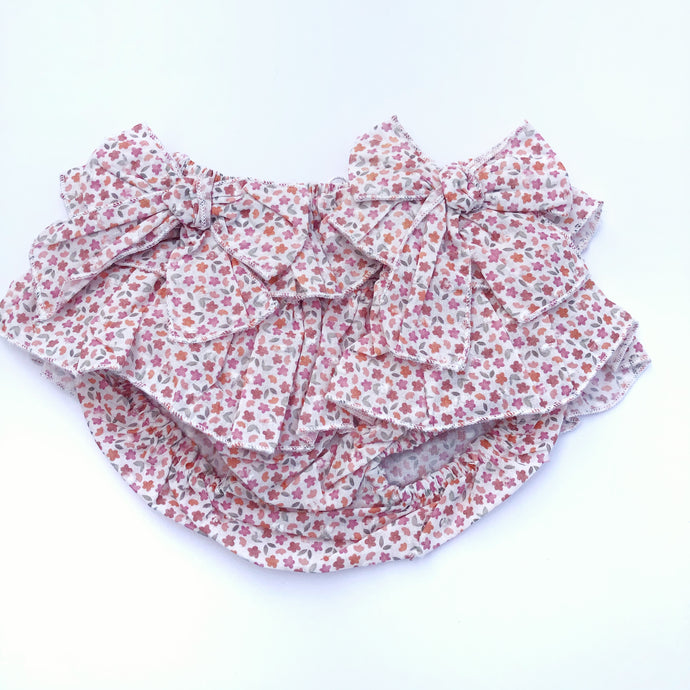 Floral baby bloomers by Babidu, Spanish childrenswear