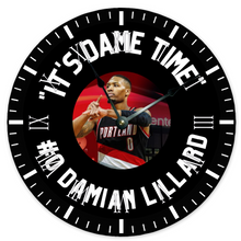 """Its Dame Time"" -- Wall Clock"