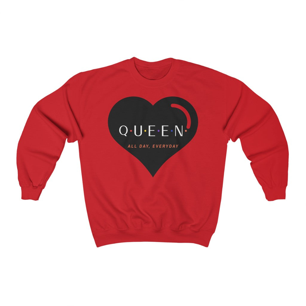 Simply Queen (All Day, Everyday) Unisex Heavy Blend™ Crewneck Sweatshirt
