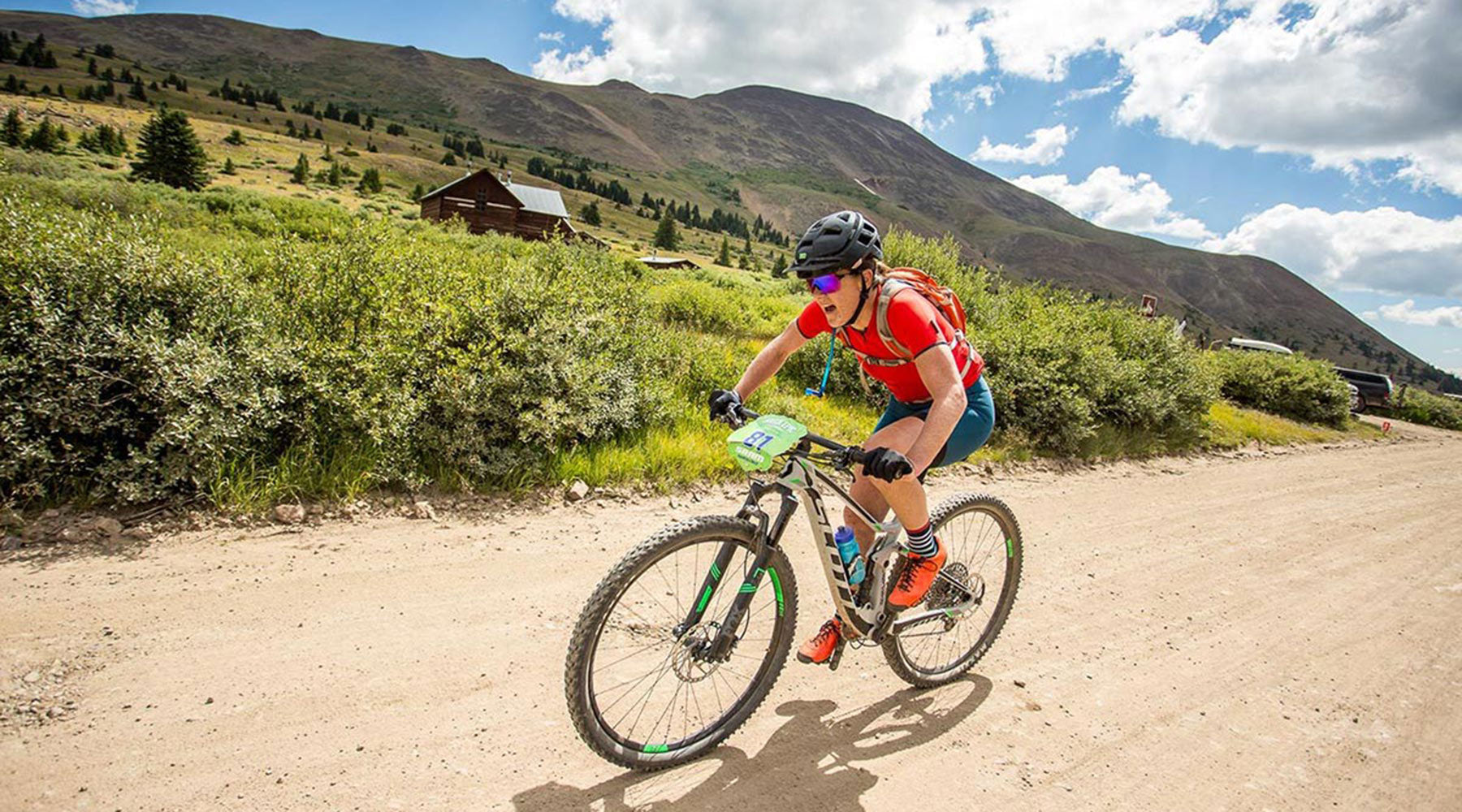 Olivia Dillon on the Breck Epic