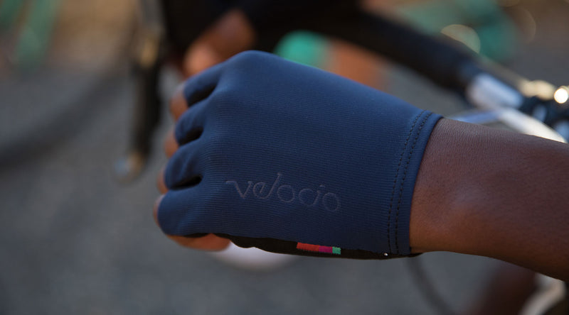 velocio race glove detail