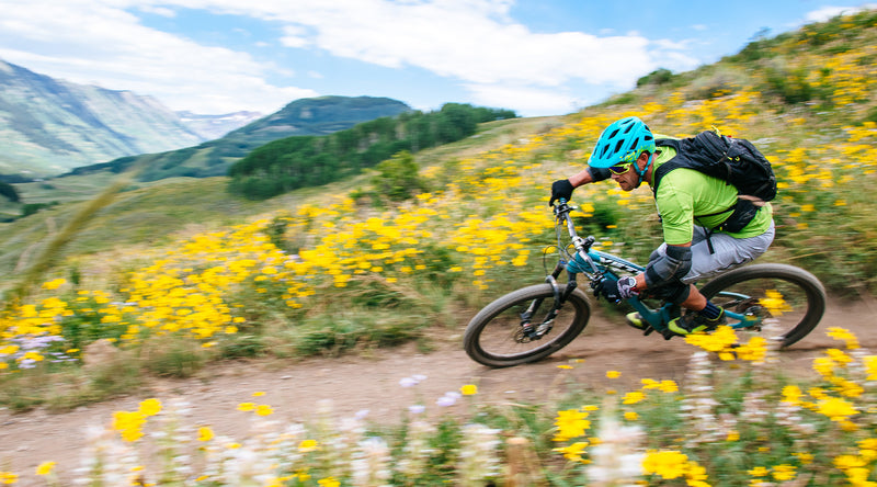 velocio radiator flash green trail crested butte