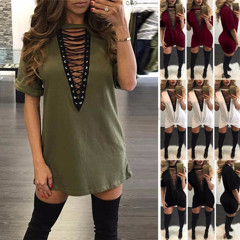 Knit lace up sweater color options