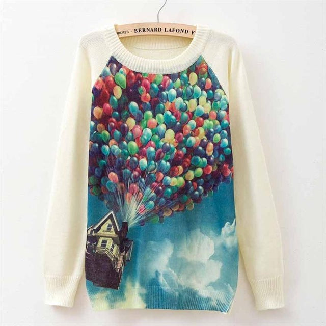 balloons sweater