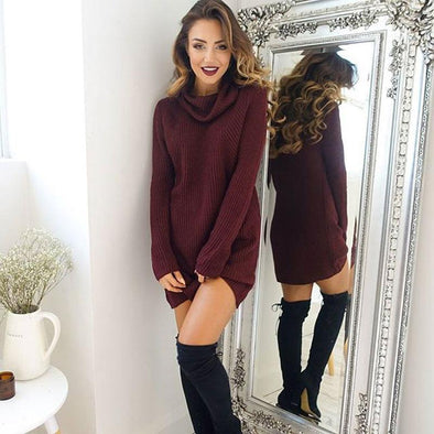 Sweater Dress Color Options