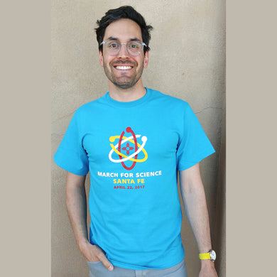 March for Science Santa Fe - Unisex short-sleeve Tee