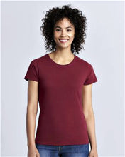 gildan ladies cut tee