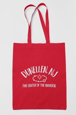 Dunellen NJ Center of the Universe Tote Bag / Funny / Cute / Fashion /  Choice of Colors