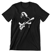 Jerry Garcia Wolf Guitar T Shirt / Grateful Dead / Bob Weir / Phil Lesh / Phish