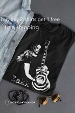 Zakk Wylde T Shirt Black Label Society Guitar Great Metal Black