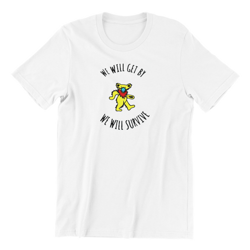 grateful dead t shirt we will survive