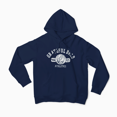 Grateful Dead Athletics Hoodie / Jerry Garcia / Bob Weir / Dead and Co / Phil Lesh / FREE SHIPPING IN US