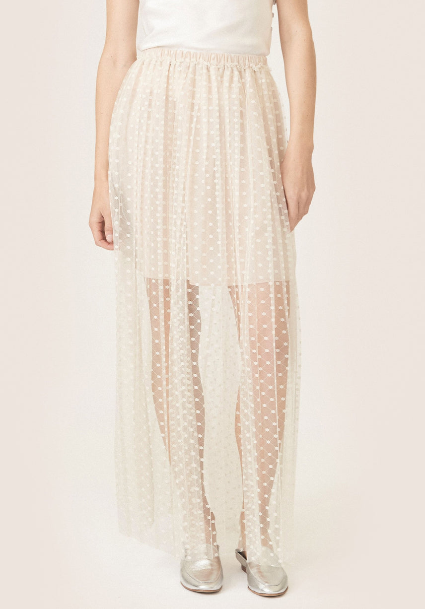 Nico Dotted Lace Skirt