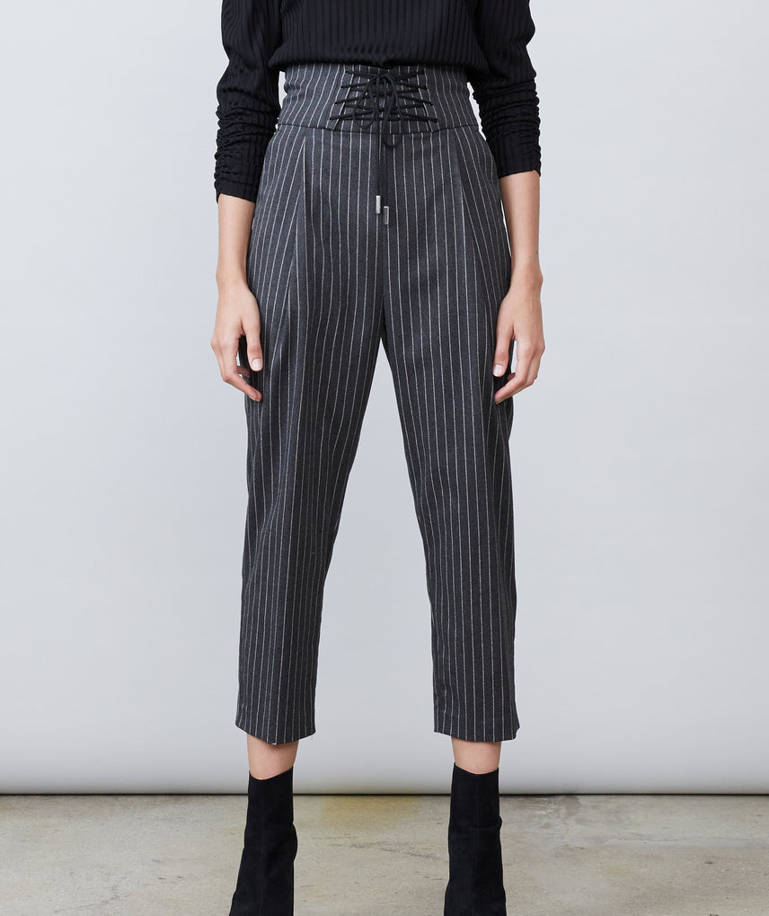 Darcy Pinstripe Pant