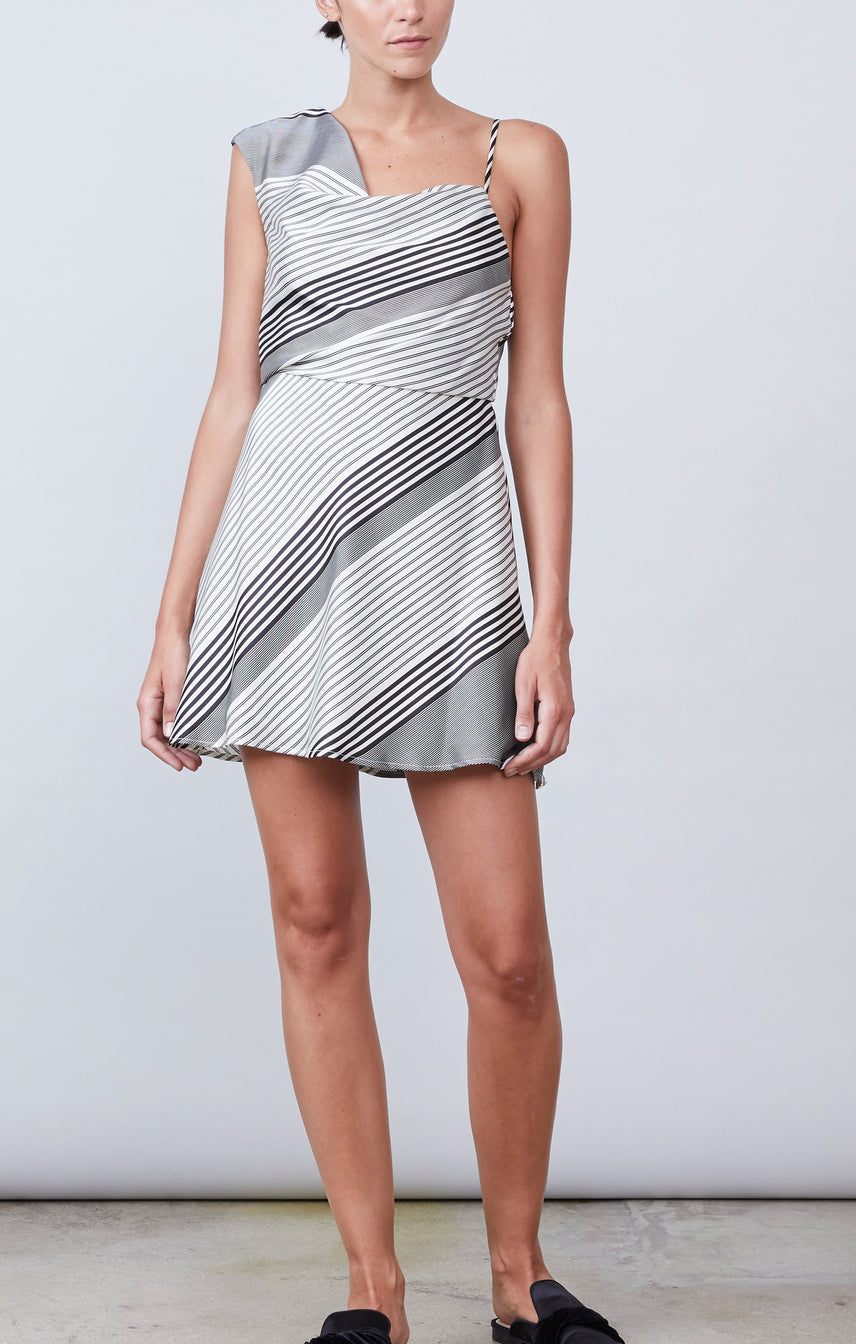 Braelynn One Shoulder Dress