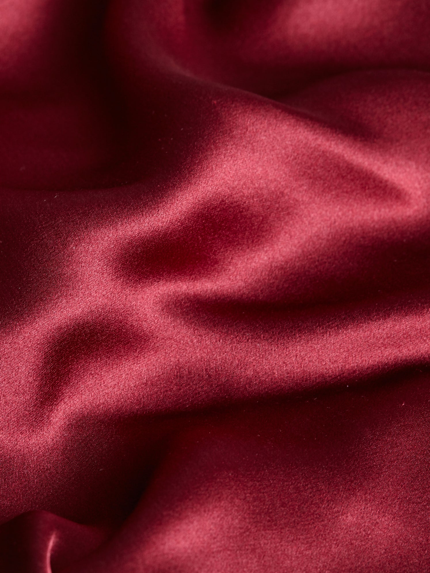 Burgundy silk fabric