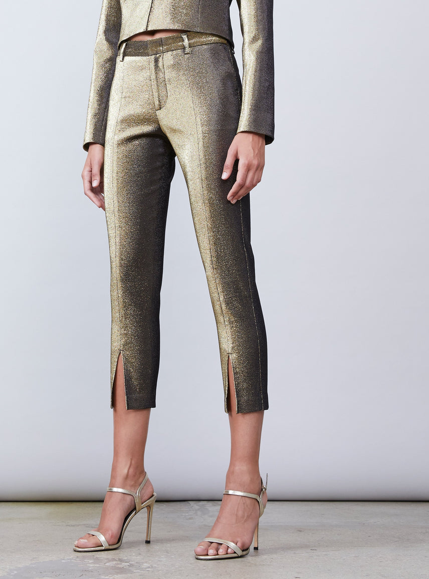 Abbey Slim Cropped Pant