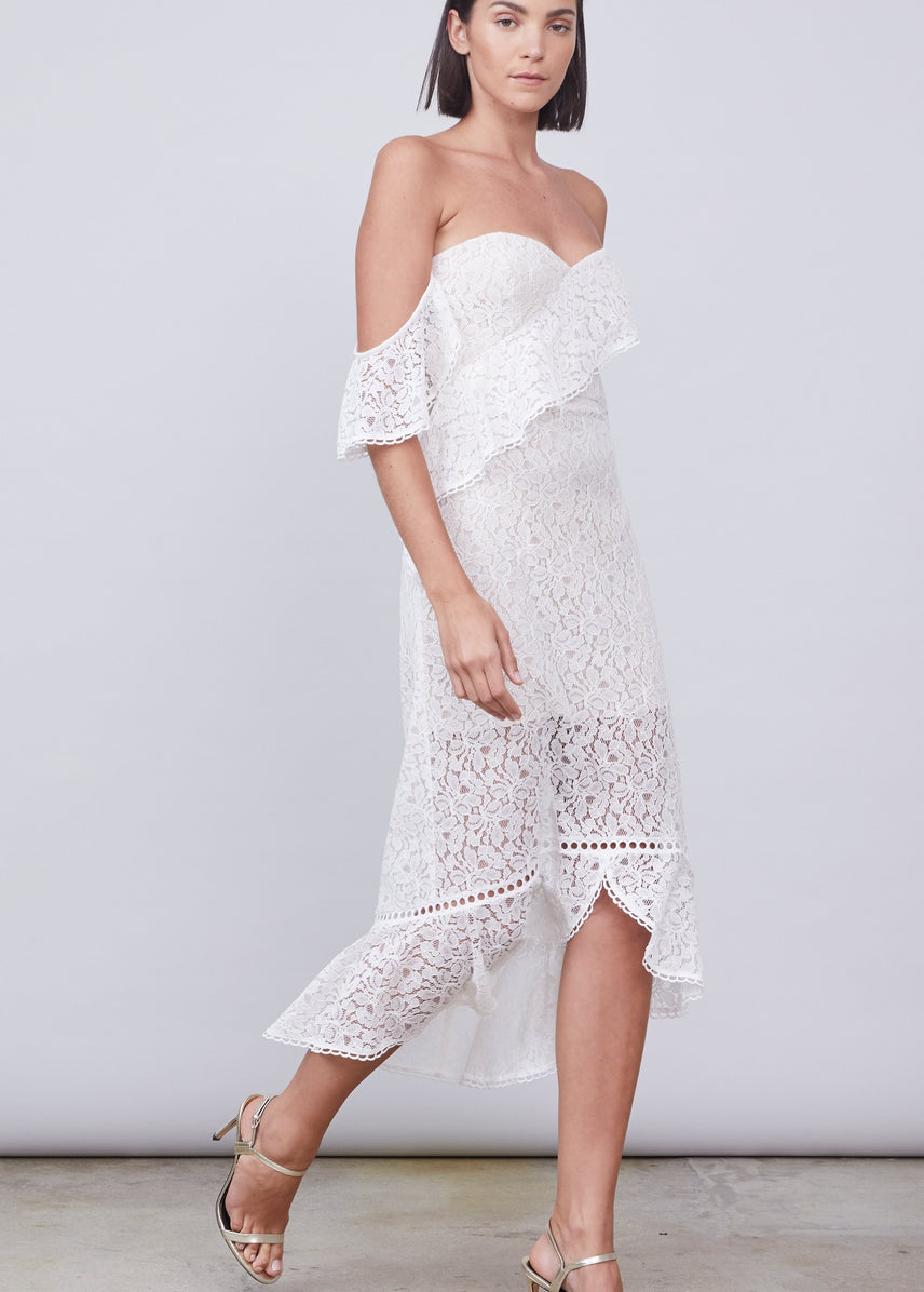 Eleanor Off Shoulder Dress
