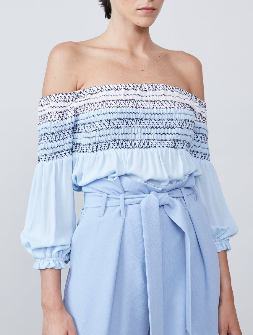 Eliza Off Shoulder Blouse