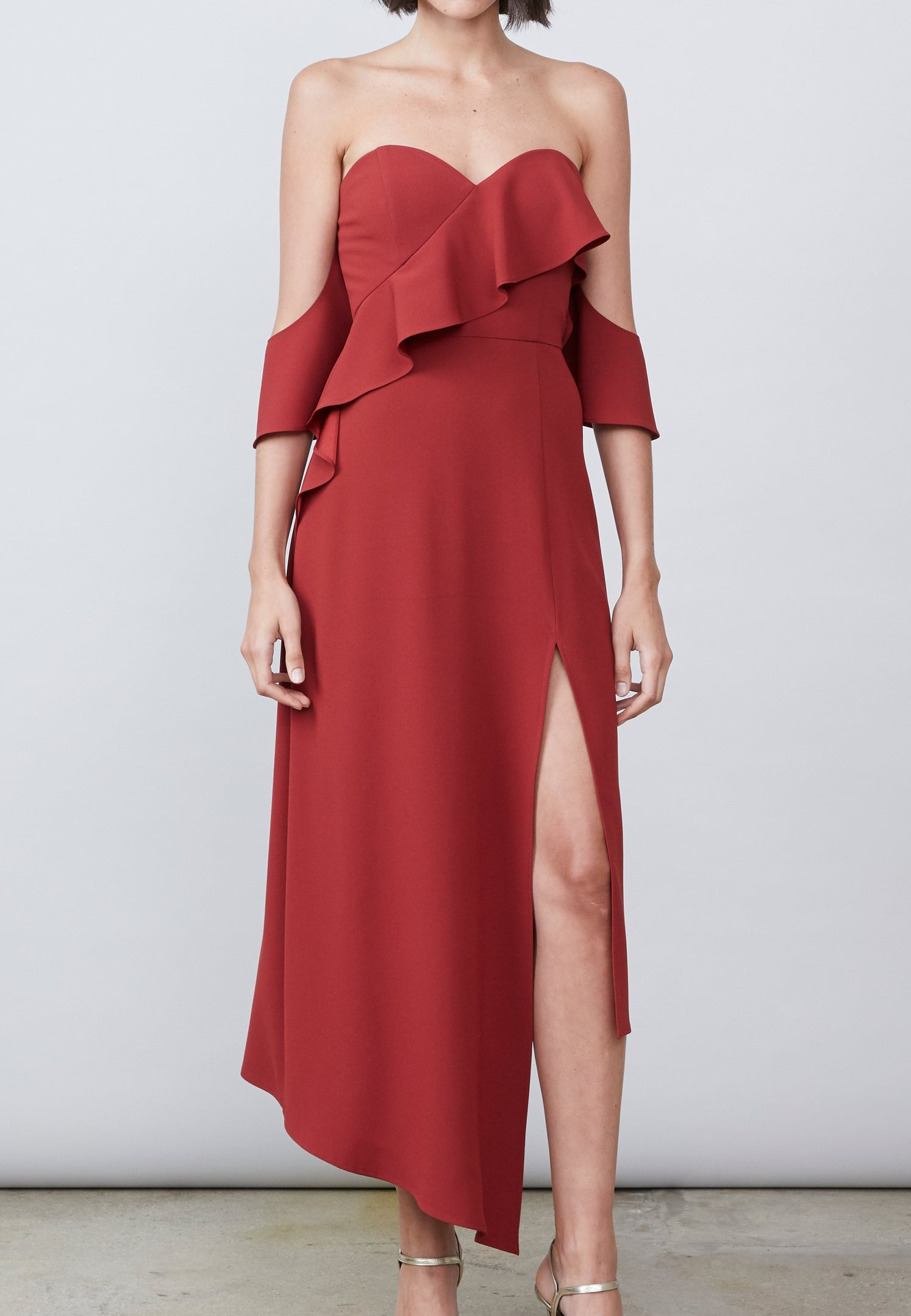 Farra Off Shoulder Dress