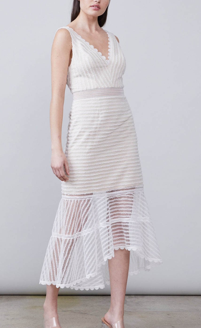 Maxwell Deep-V Dress