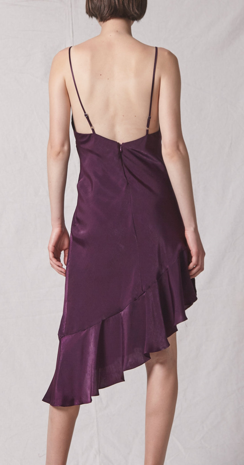 Pippa Asymmetrical Slip Dress
