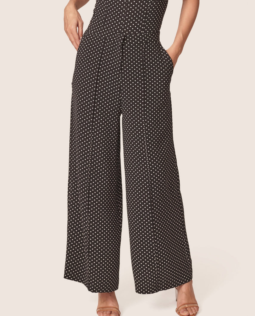 Steph Dotted Wide Leg Pant