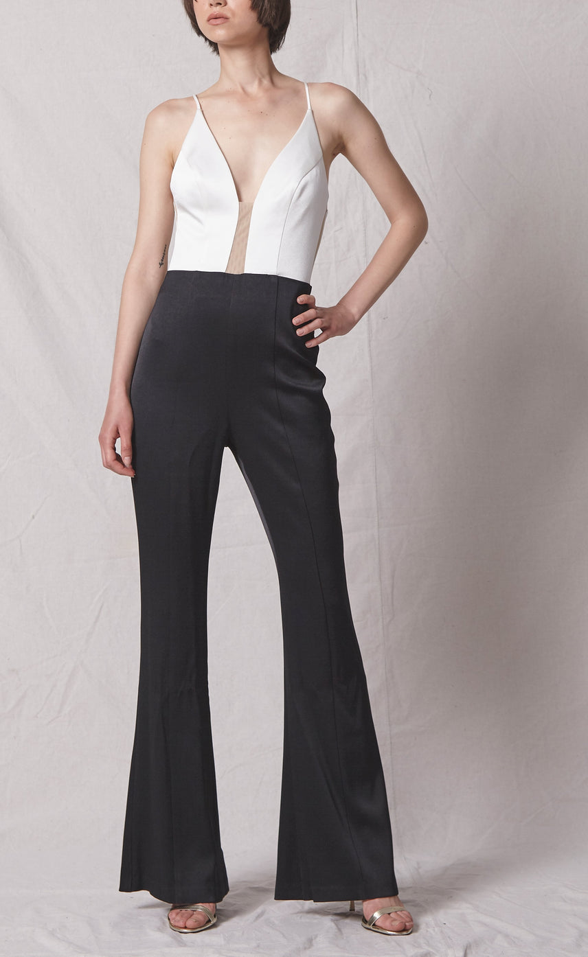 Yves 2-Tone Jumpsuit