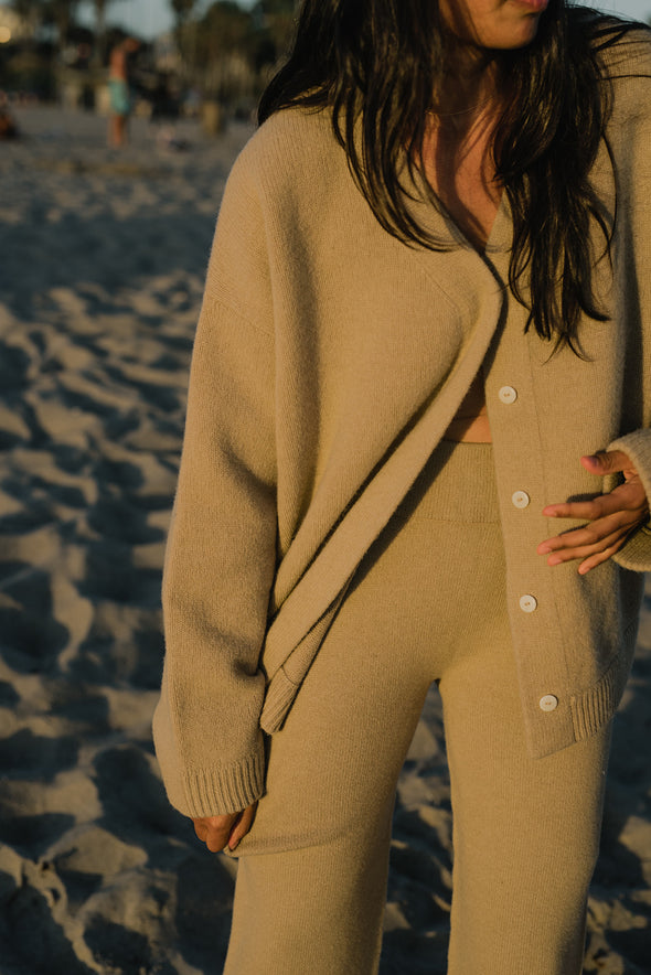 Oversized Wool Cardigan