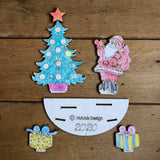 Quantity of 4 x Christmas Kit - Pop out and Decorate