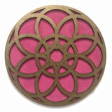 Flower Mandala Gold and Pink.