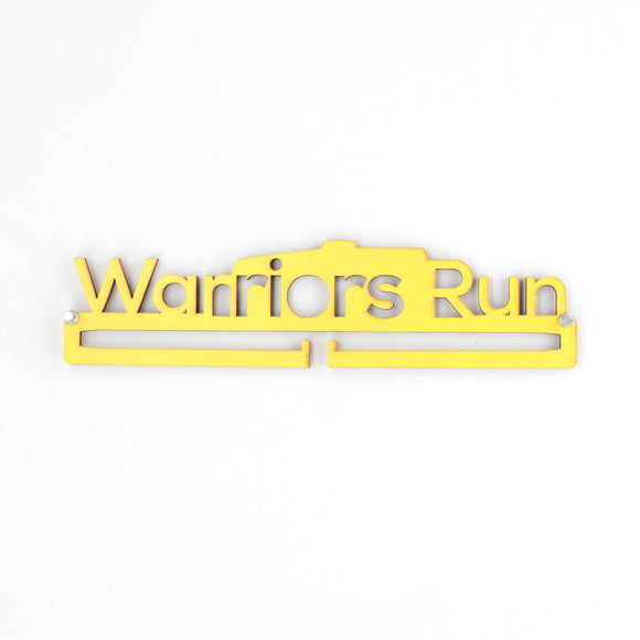 Medal holder - Warriors Run