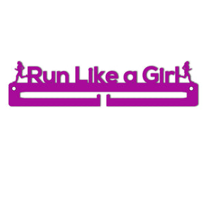 Medal Holder - Run Like A Girl