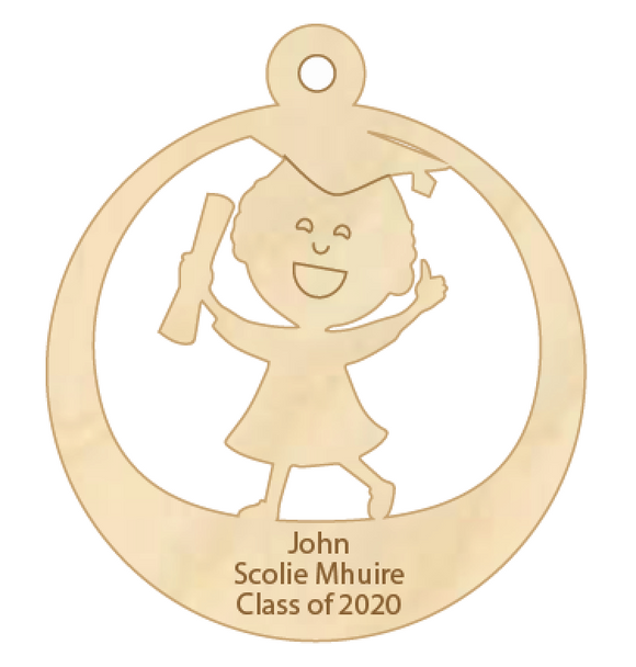 Class of 2020 Personalised Keepsake x 10