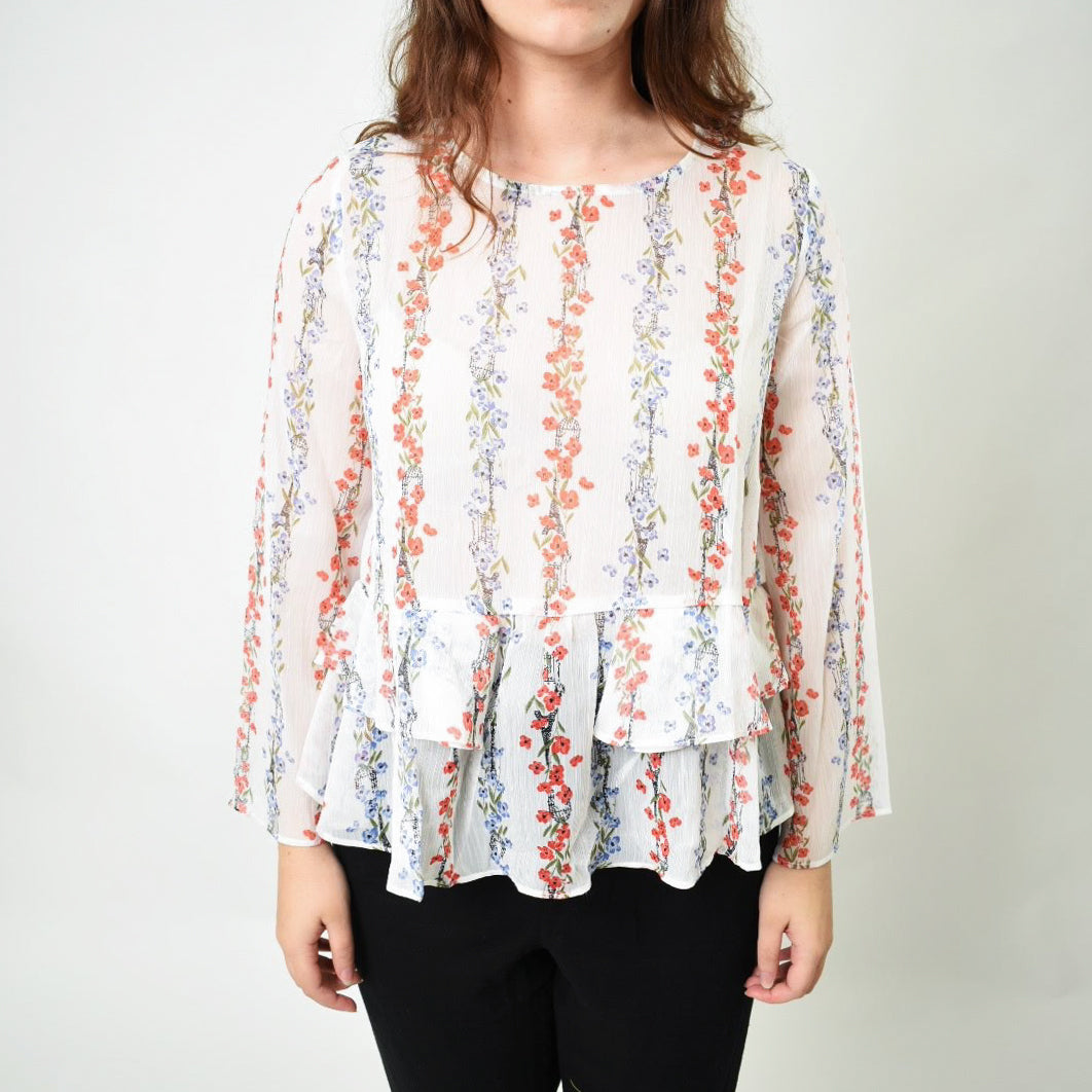 Floral Sheer Top - Newport Edge