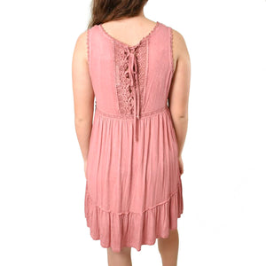 Washed Lace Dress - Newport Edge
