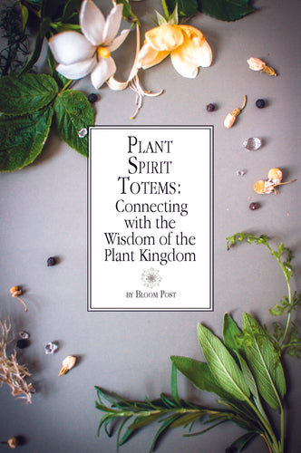 Plant Spirit Totems: Connecting with the Wisdom of the Plant Kingdom