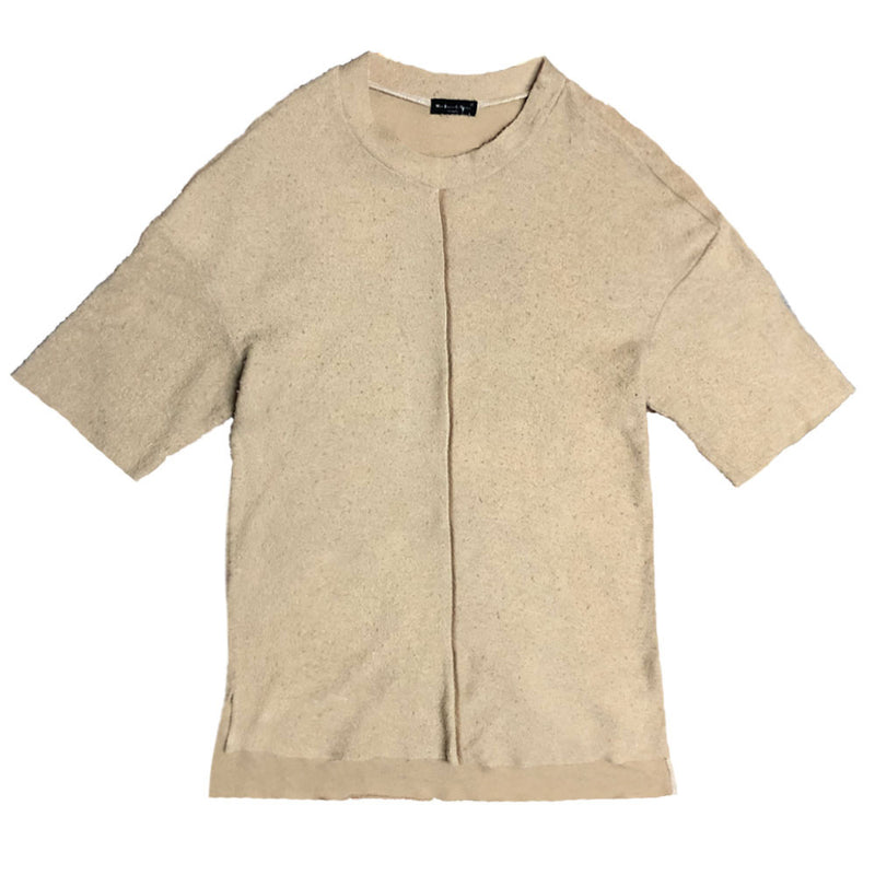 FRENCH TERRY TEE- KHAKI