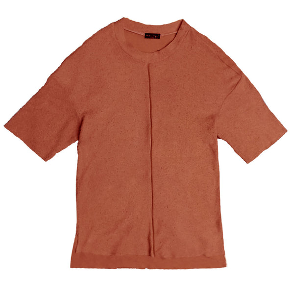 Rust French Terry Tee