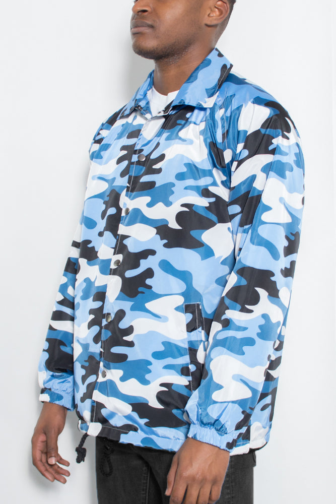 Load image into Gallery viewer, CAMO COACHS JACKET