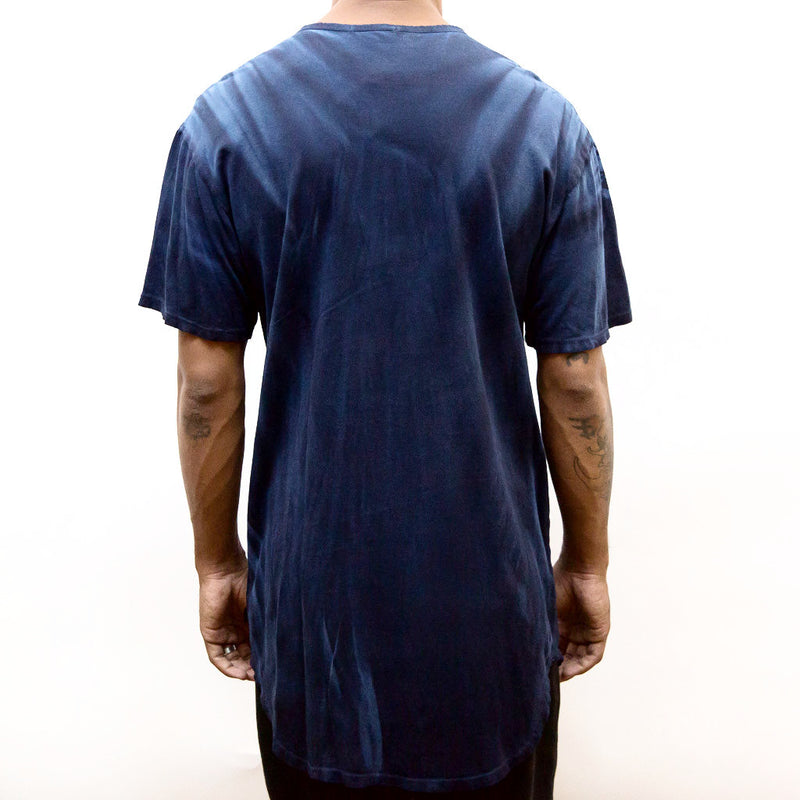 RIVER WASH TEE- BLUE