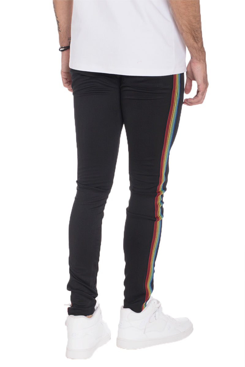 Rainbow Taped Track Pants