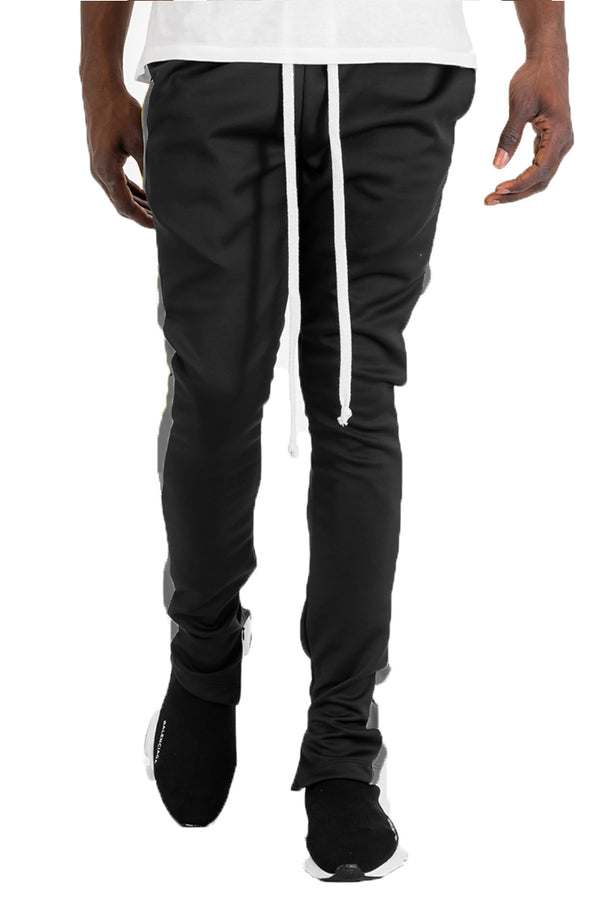 HOLIDAY TRACK PANTS- BLACK/ GREY